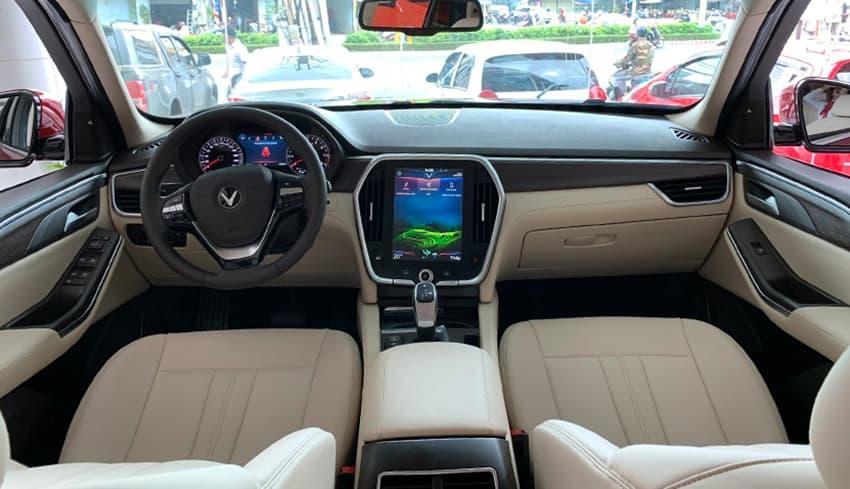Nội thất xe VinFast Lux SA 2.0