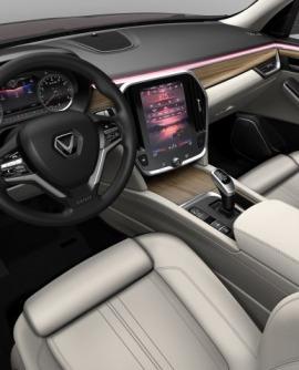 Hình ảnh nội thất xe oto Vinfast thực tế mới nhất